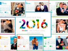 Calendar 2016 Gay version Printable