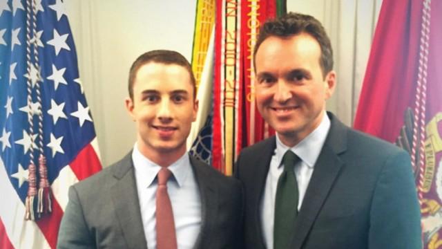 Eric Fanning and boyfriend Ben