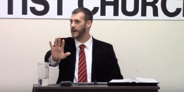 Anti-Gay Preacher