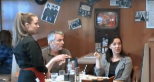 lesbian waitress
