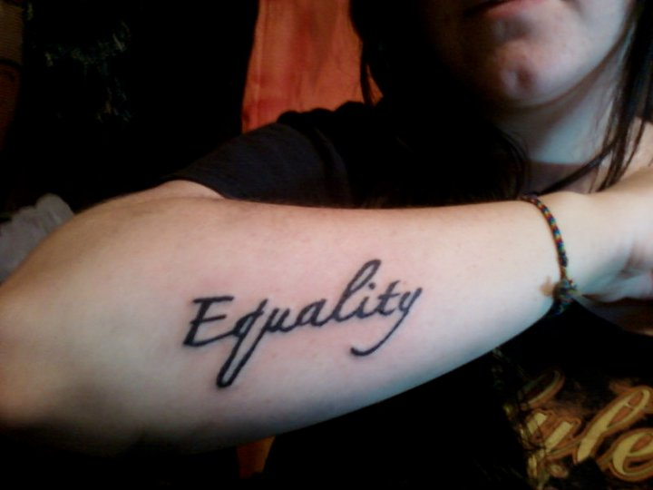 This simple equality tattoo.