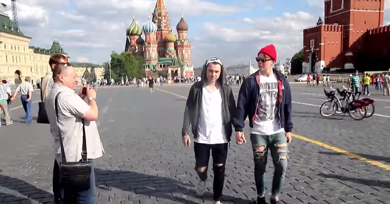 Gay experiment in Moscow