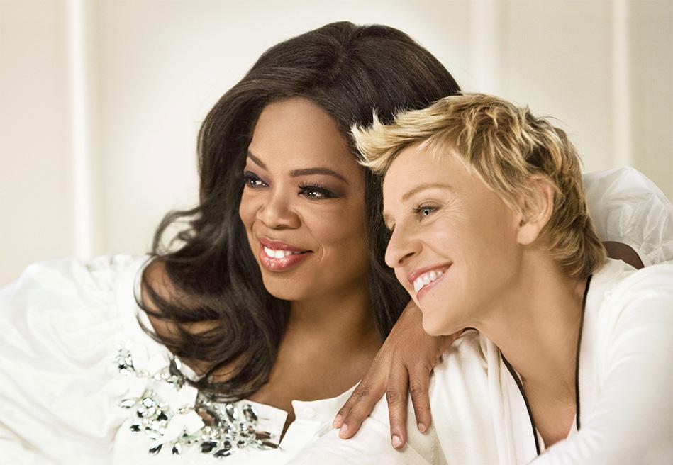 Opra and Ellen