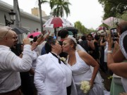 60 Same-Sex Couples Got Married