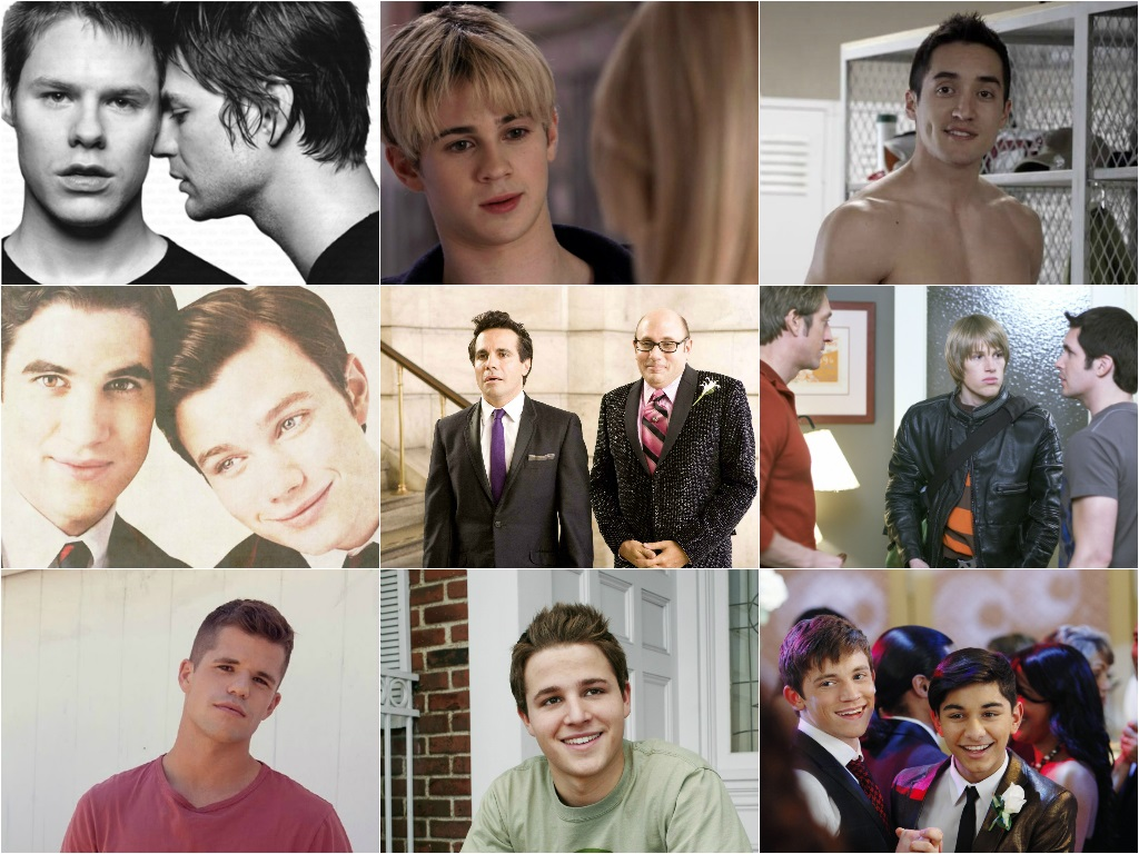 tv shows with male gay charaters