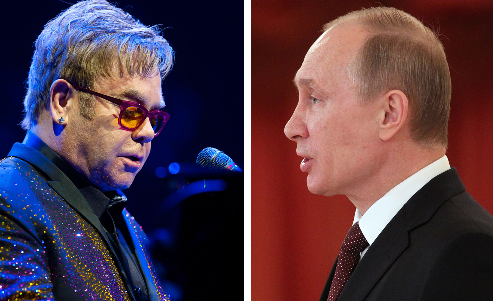 Elton John attacks Putin