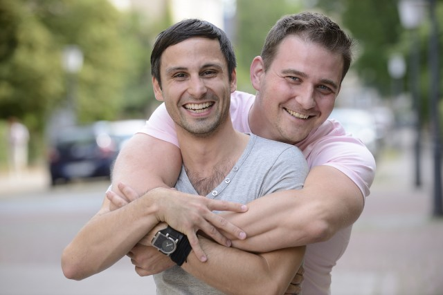 gay men couple
