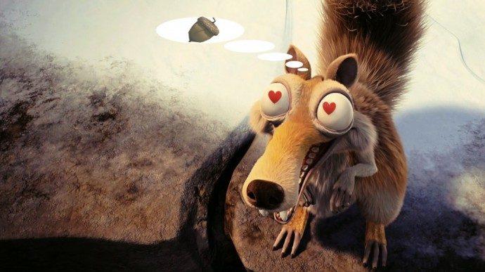 scrat-in-love-animal