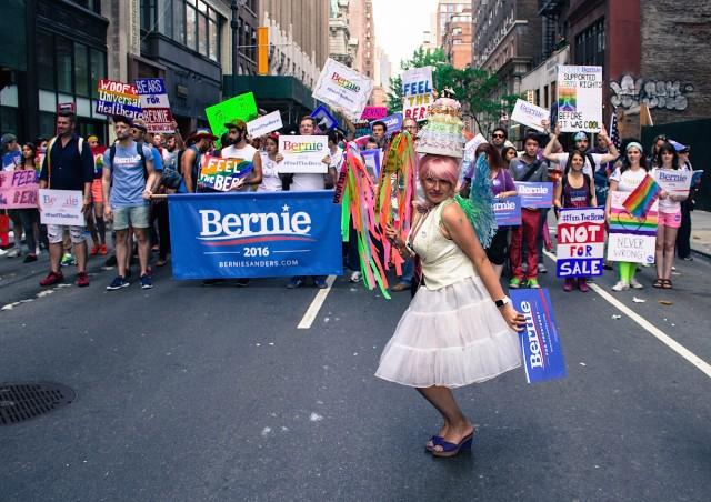Bernie Sanders supported gays