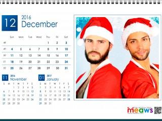 GAY and LESBIAN printable calendar