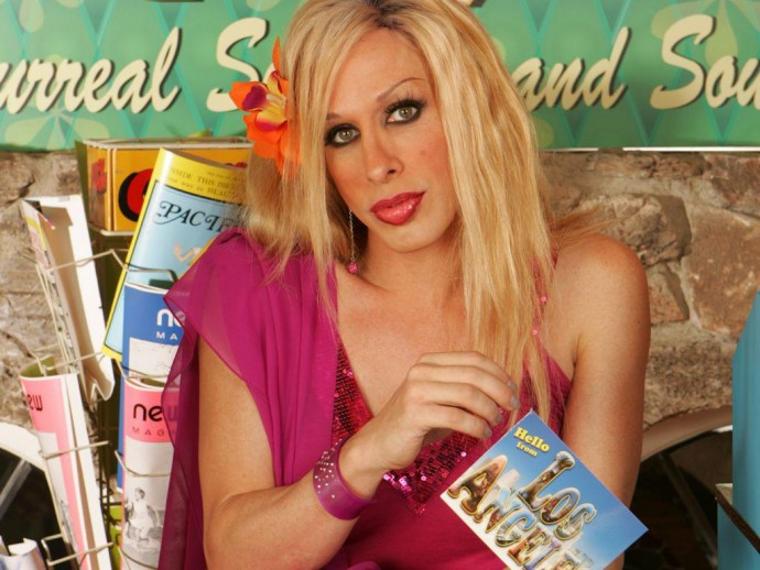 Alexis Arquette about transgender people