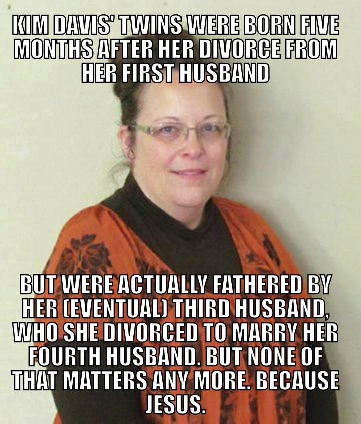 Kim Davis1 10 memes that made kim davis a rock star meaws gay site,Marriage Meme For Her