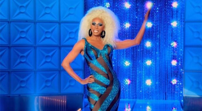 RuPaul, a stylish drag queen
