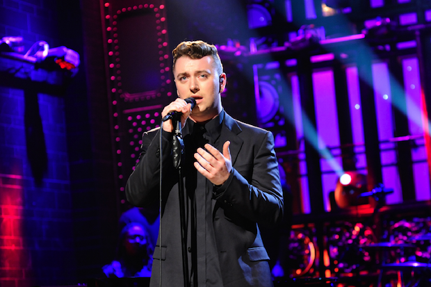 Sam Smith sings for gays