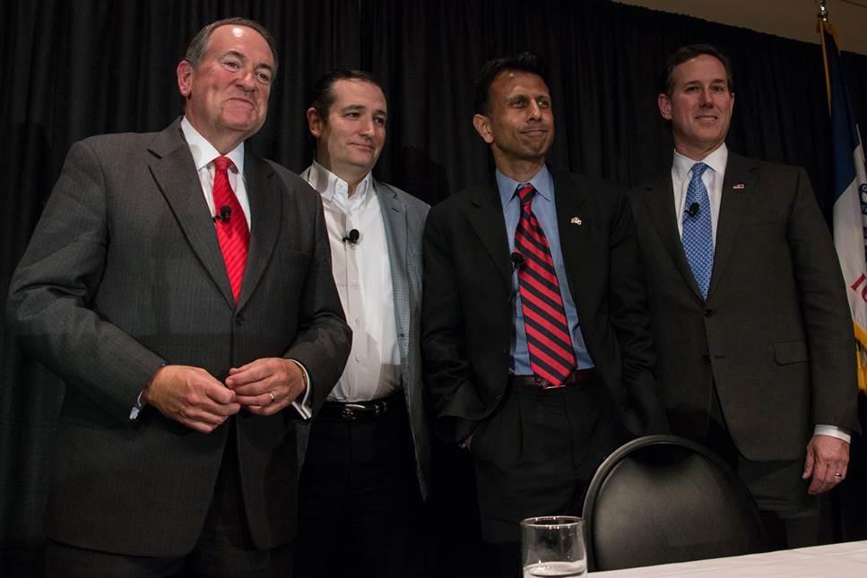 Huckabee-Cruz-Jindal-Santorum