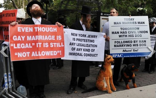 jews against gays