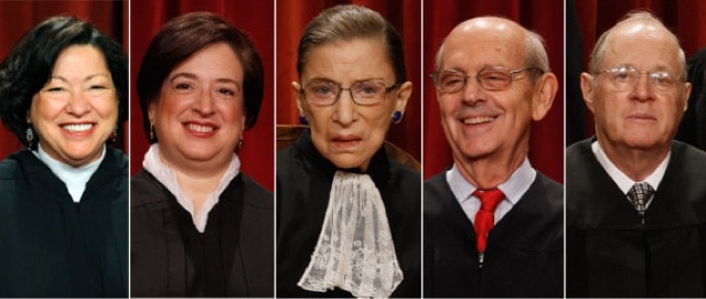 5 Supreme Court Justices