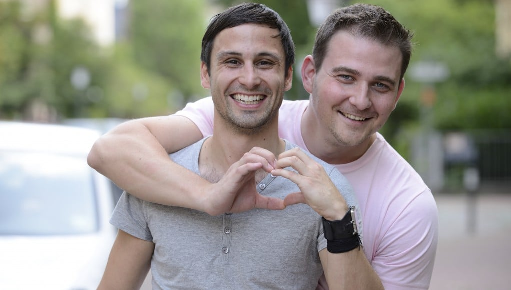photo of gay couple