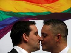 same-sex couple