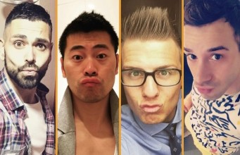male-duck-face