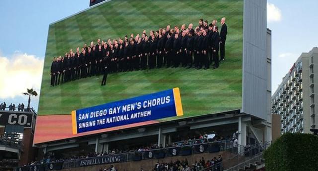 baseball choir
