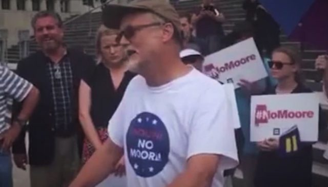 Christian Protester