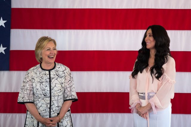 cher and clinton