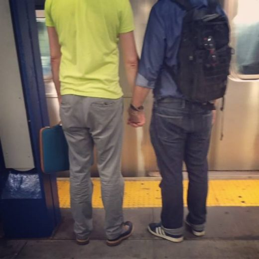 gays in subway