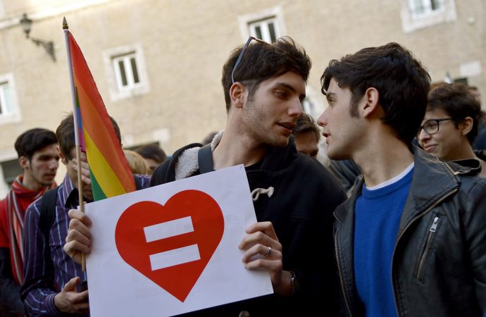 ITALY-GAY-RIGHTS