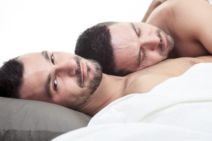 A homosexual couple