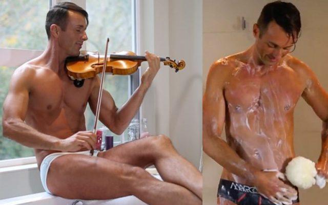 Shirtless-Violinist