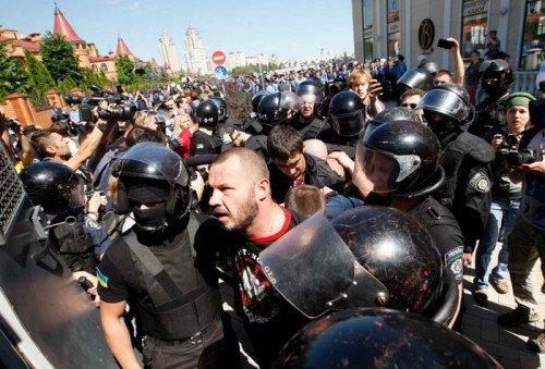 Kiev-clash