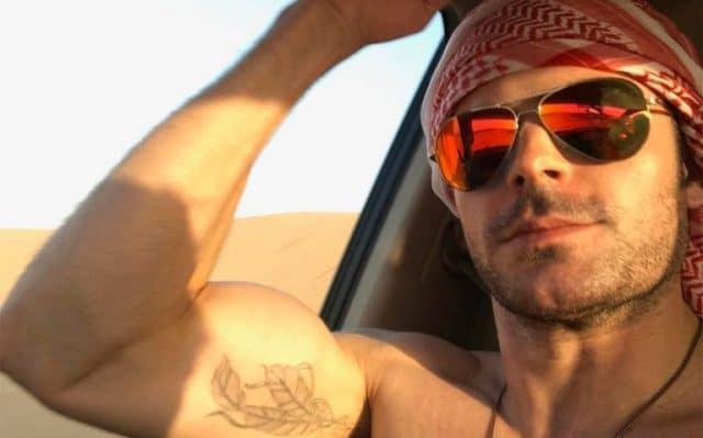 Zac-Efron-Biceps