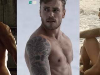 Gus Kenworthy strips naked in behind the scenes look at ESPN's body issue