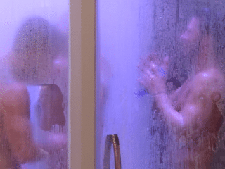 Big Brother hunks have a three-way shower together