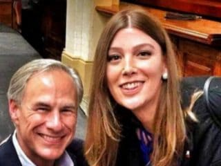 This transgender woman's selfie with the anti-trans Texas governor has gone viral