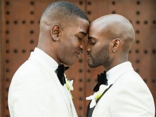 Inspiring Brooklyn couple finally marry – check out the adorable photos