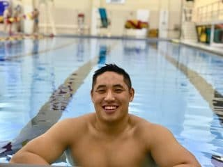 This Military Swim Team Captain Came Out To His Teammates