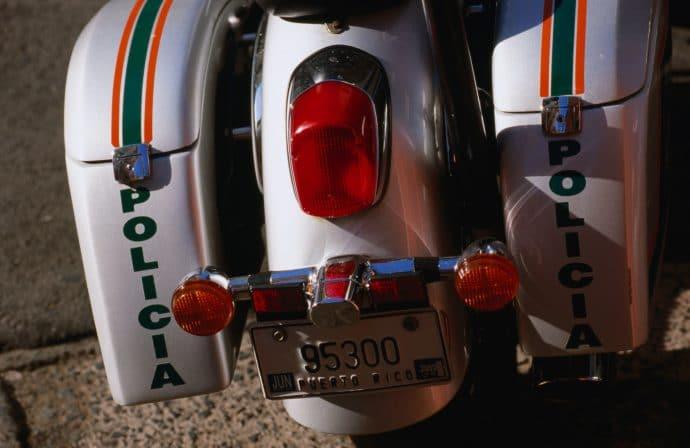 Cops on motorbikes