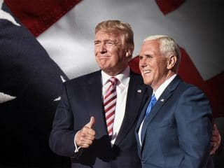 Trump joked VP Mike Pence wants to 'hang all the gays'