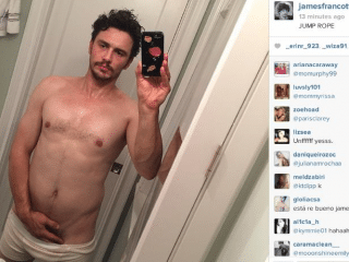 James Franco Comments On The 'Sweaty' Photo That Led Him To Quit Instagram