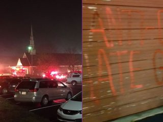 Was This Church Set On Fire Because It's Anti-LGBT?