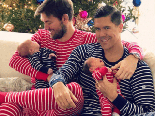 Gay men on the joys and challenges of raising twins