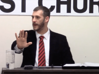 Anti-Gay Preacher Gives Advice On Avoiding 'Flaming Foo-Foo Fruit Loop' Waiters