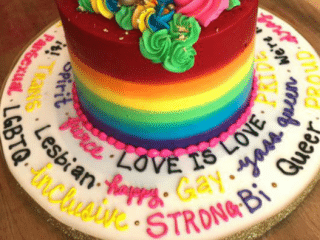 This Canadian bakery made the gayest cake ever for a customer