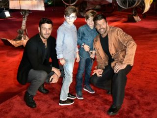 Ricky Martin, Jwan Yosef's First Outing As Husbands Is So Cute!