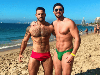 16 sizzling LGBTI celeb winter vacay pics