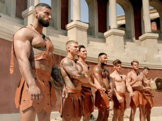 You could have gay sex in the Roman army, so long as you were the top