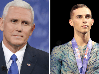 Mike Pence Responds With PURE CLASS To Gay Olympian Who Keeps Trashing Him
