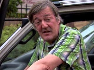 Stephen Fry is battling prostate cancer